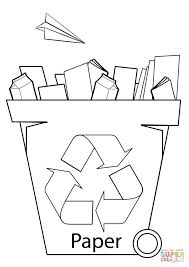 recycle coloring page earth day pages on recycling educations book