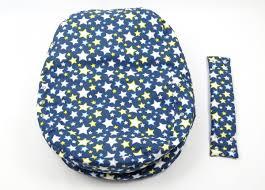 pelíšek pro miminko hvězdy modré 100 bavlna kojící polštáře
