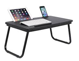 Laptop Desk Bed Sofia Sam Tray With Tablet Phone Slots