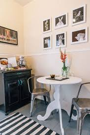 Small Space Dining Room 5 Ways To Create Small Space Dining Areas The Everygirl