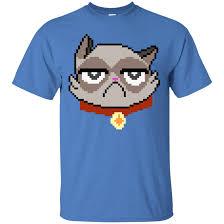 ce af siege grumpy cat pixel t shirt memelordmerch