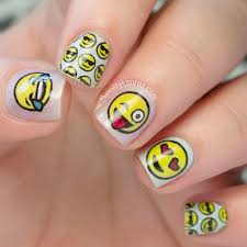 emoji nail art and some new kit from moyou emoji nails uk nails