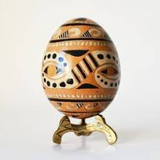 Easter Decorations Toronto by Ukrainian Easter Egg Pysanka With Flowers By Katya Trischuk