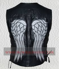 Dead Biker Halloween Costume Daryl Dixon Walking Dead Angel Wings Vest Movies