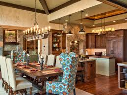 Rustic Dining Room Decorating Ideas Kitchen And Dining Room Decorating Ideas With Inspiration Image