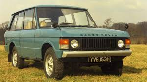 1970 range rover 45 years of range rover exceptional british design