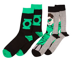 Wu Tang Socks Men U0027s Dc Comics Green Lantern Pack Of 2 Socks