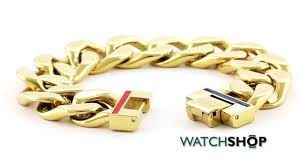 gold plated bracelet chain images Tommy hilfiger jewellery men 39 s gold plated bracelet 2700702 jpg
