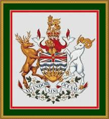 canada coat of arms heraldry cross stitch kit u2013 crossstitchkingdom