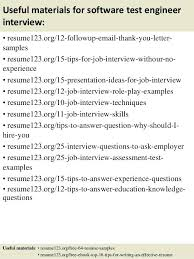 Resume Format Experienced Software Engineer Sample Resume Format For Experienced Software Test Engineer Useful