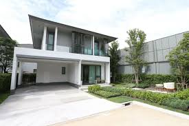 new sansiri project features energy saving detached houses