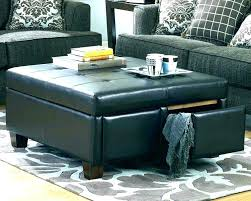 Large Ottoman Coffee Table Chesterfield Footstool Coffee Table Leather Coffee Table