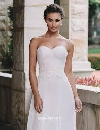 vintage summer wedding dresses vintage chiffon lace summer wedding dress strapless