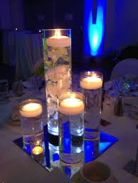 Floating Candle Centerpieces by Floating Candle Arrangements Floating Candle Centerpiece Bbd