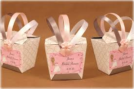 wedding shower party favors bridal shower favor takeout style boxes