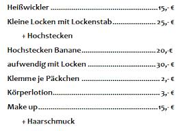 Hochsteckfrisurenen Preise by Preise Für Hochsteckfrisuren Haarmoden Dittrich