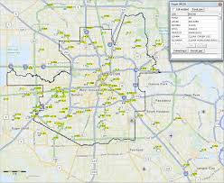 Houston Tx Zip Code Map by Districts Decision Making Information Resources U0026 Solutions