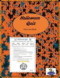 halloween quiz 2017 slideshow and printable formats included