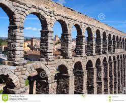 roman aqueduct segovia spain stock photo image 44031509