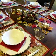 dollar store thanksgiving table of