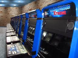 xtreme game wizard blue arcade machine now shipping arcooda
