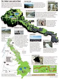 Oregon Volcano Map by Central Oregon U0027s Newberry Nears 25th Anniversary Effort To Create