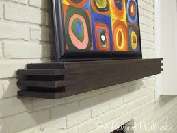 Fireplace Mantel Shelf Designs by Best 25 Floating Mantel Ideas On Pinterest Mantle Ideas Stone