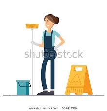cartoon pictures of cleaning cartoon cleaning lady stock images royalty free images u0026 vectors