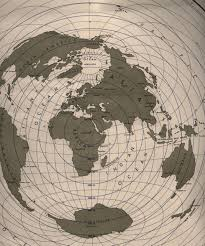 Azimuthal Map Random Notes Geographer At Large Fun With Map Projections
