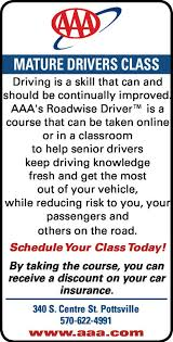 senior driving class the republican herald business directory coupons restaurants