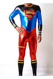 superman lycra spandex zentai suit tights zentai costume