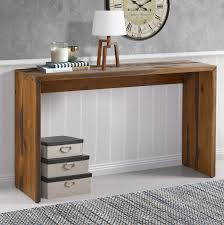 Reclaimed Wood Console Table Loon Peak Arocho Solid Reclaimed Wood Console Table Reviews