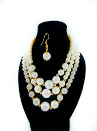 pearl beads necklace images African pearl beads necklace earring jeglow shopping jpg