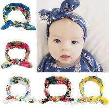 baby hairbands 2016 new kids baby headbands bohemian rabbit ears hair accessories