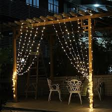 Christmas Window Decorations And Lights by Curtain Lights 304led 9 8 9 8ft Warm White Christmas Curtain