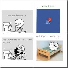 Meme Comics Facebook - if you have real friends you don t need to use facebook which