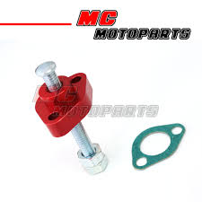 cnc red manual cam chain tensioner fit honda cbr 600 f3 95 96 97