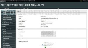 auto port forward mofi network mofi4500 4gxelte v2 status router screenshot
