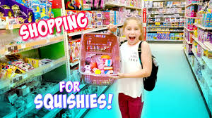 shopping for squishies and slime at target city and