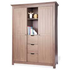 armoire pour chambre enfant acheter armoire bébé collection taupe avec eco sapiens