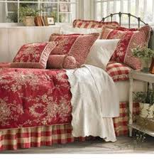 brand new queen size sherry kline comforter waverly french country