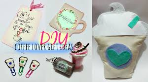 diy gift ideas for coffee lover alphabetstory youtube