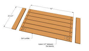 Plans For Patio Table by Patio Table Plans