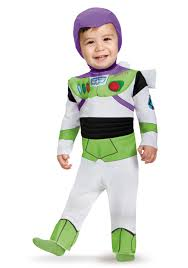 Toy Story Halloween Costumes Toddler Deluxe Buzz Lightyear Infant Costume