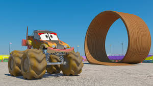 Car Wash 3d Monster Truck Car Wash Kids Videos Monster Truck