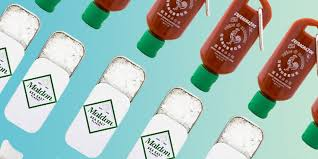 sriracha keychain 9 mini condiment bottles jars and packets to keep in your desk