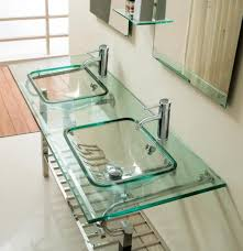 Glass Vanity Sinks The Benefits Acquired If Placing The Glass Vanity Sink In Bathroom