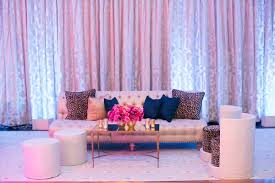 sofa club los angeles colorful outdoor wedding with supper club theme in los angeles