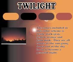 What Color Is Peaceful Twilight Color Scheme