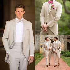 wedding groom custom made suits light grey groom tuxedos suits custom wedding